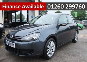 2011 VOLKSWAGEN GOLF 1.6 MATCH TDI 5DR SOLD