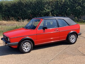 1982 VW Golf GLi 1800cc Convertible...SOLD! For Sale
