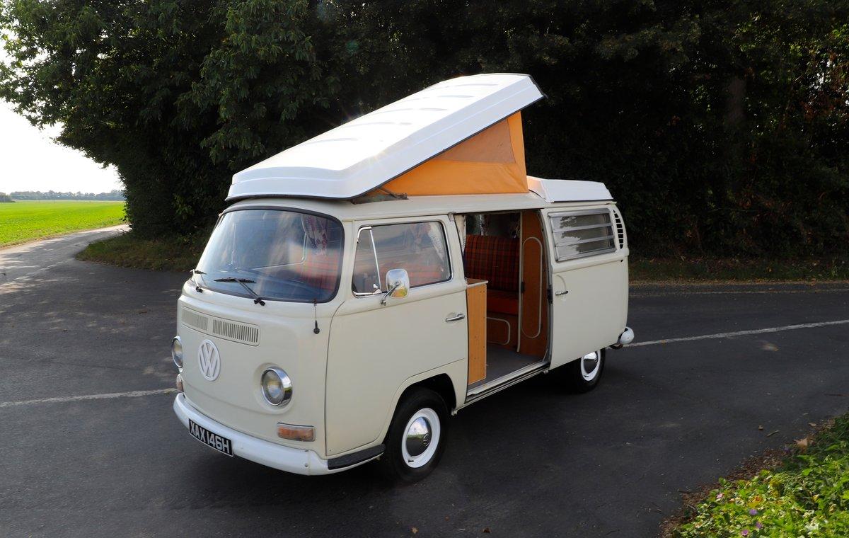 1969 VW Bay Window T2 Westfalia Camper Van – RHD For Sale (picture 1 of 6)