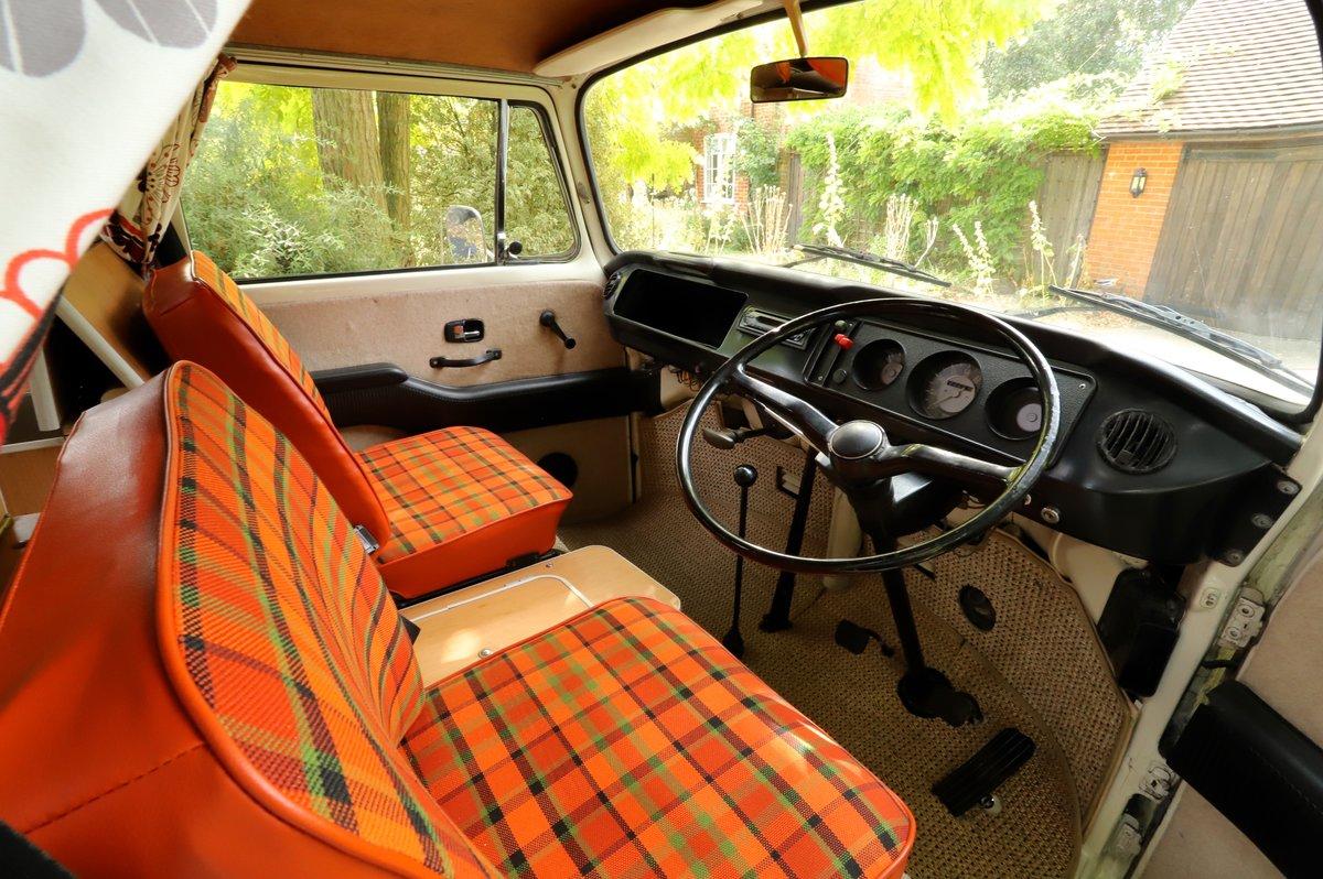 1969 VW Bay Window T2 Westfalia Camper Van – RHD For Sale (picture 5 of 6)