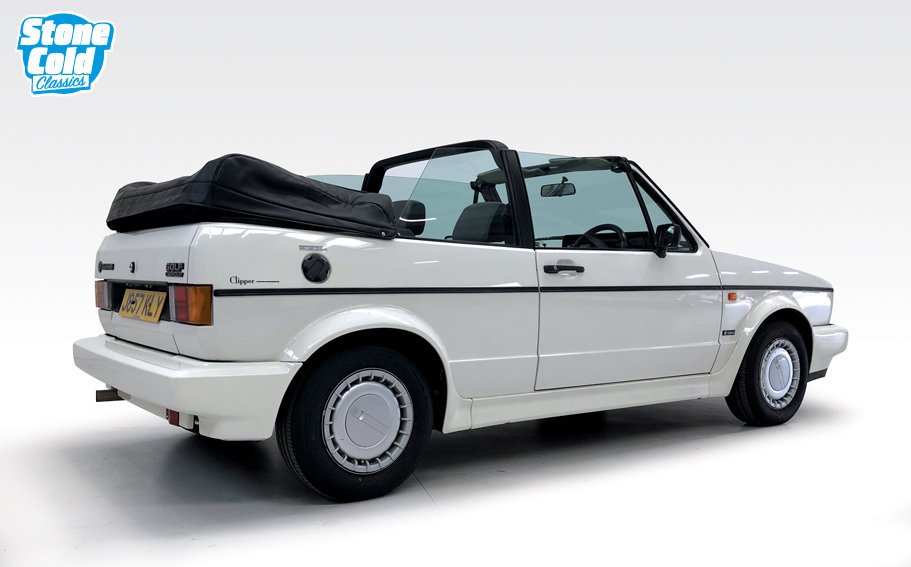 1991 VW Golf Clipper Cabriolet SOLD (picture 2 of 10)