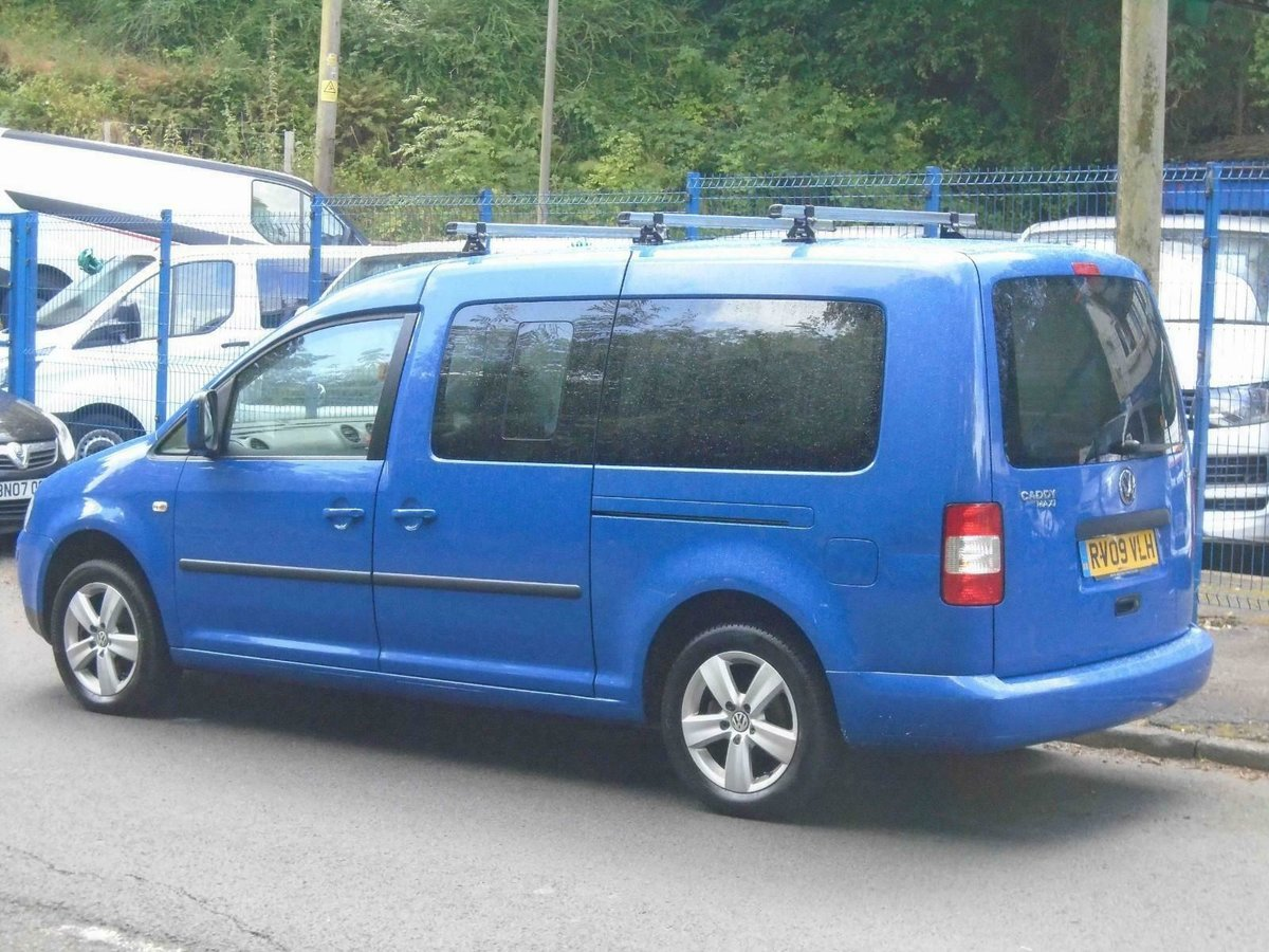2009. VwCADDY MAXI LIFE- 7 SEATER, A/C blue For Sale (picture 5 of 6)