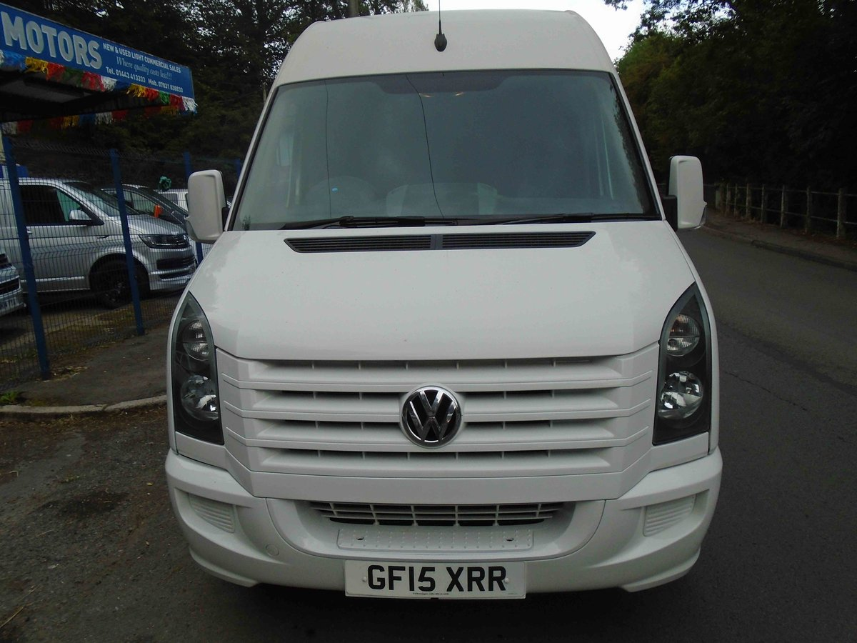 2015 15 VW CRAFTER 2.0 TDI 136BHP LWB HI ROOF For Sale (picture 3 of 6)