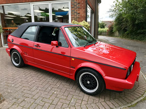 1992 VW GOLF Mk1 GTi SPORTLINE (Just 17,600 miles from new) For Sale