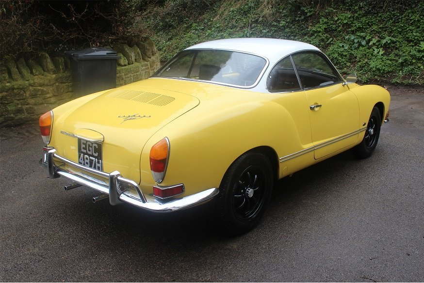 1970 VW Karmann Ghia LHD For Sale (picture 2 of 6)