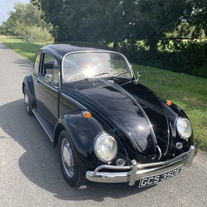 1967 1500CC BLACK RIGHT HAND DRIVE BEETLE For Sale