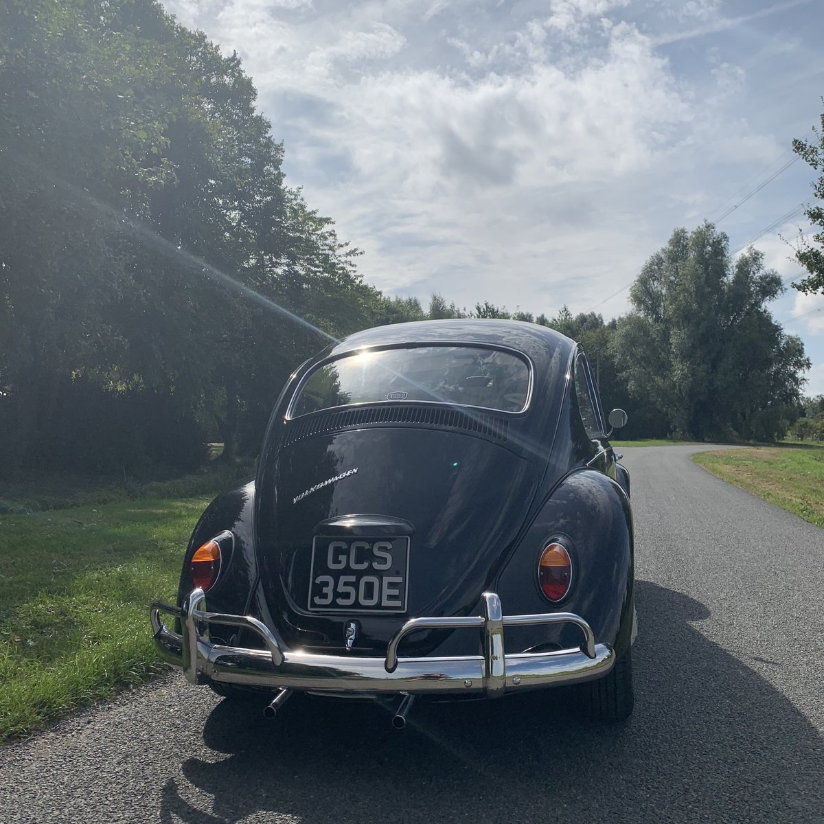 1967 1500CC BLACK RIGHT HAND DRIVE BEETLE SOLD (picture 6 of 6)