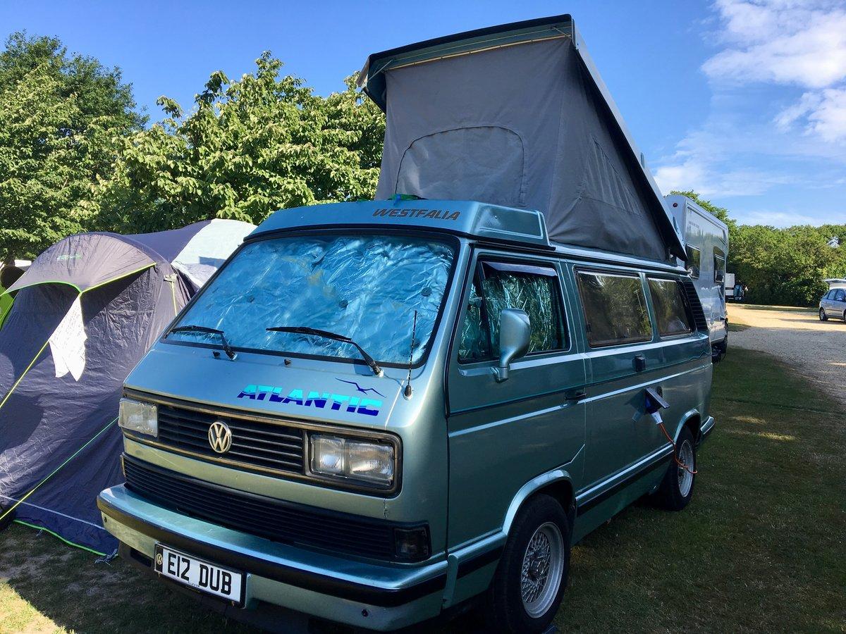 1990 VW Westfalia Atlantic T25 Pop Top Camper Van  For Sale (picture 1 of 6)