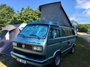 1990 VW Westfalia Atlantic T25 Pop Top Camper Van