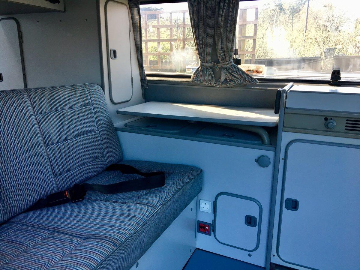 1990 VW Westfalia Atlantic T25 Pop Top Camper Van  For Sale (picture 3 of 6)