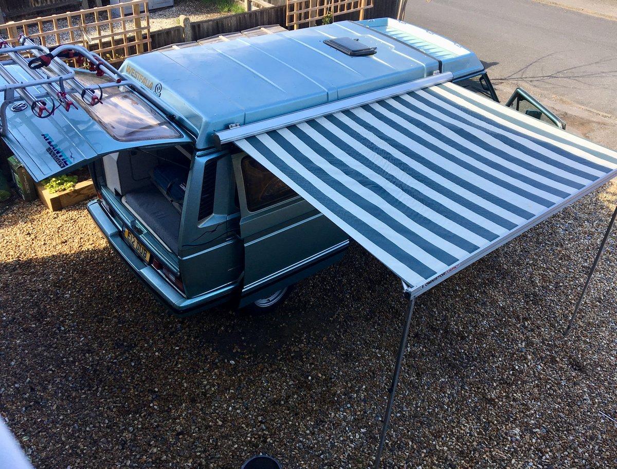 1990 VW Westfalia Atlantic T25 Pop Top Camper Van  For Sale (picture 4 of 6)