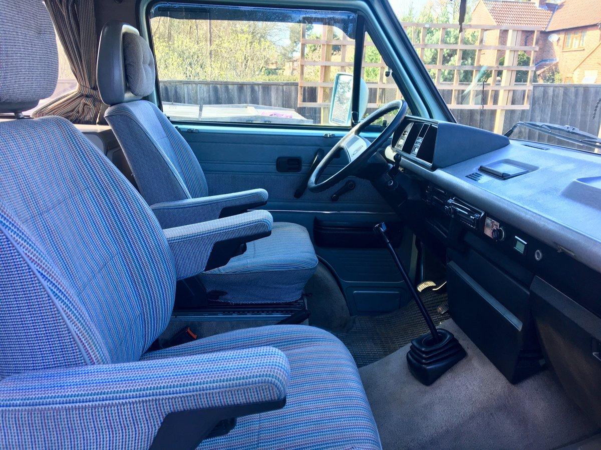 1990 VW Westfalia Atlantic T25 Pop Top Camper Van  For Sale (picture 5 of 6)