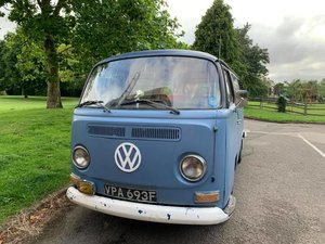 1968 VW bay window camper RHD