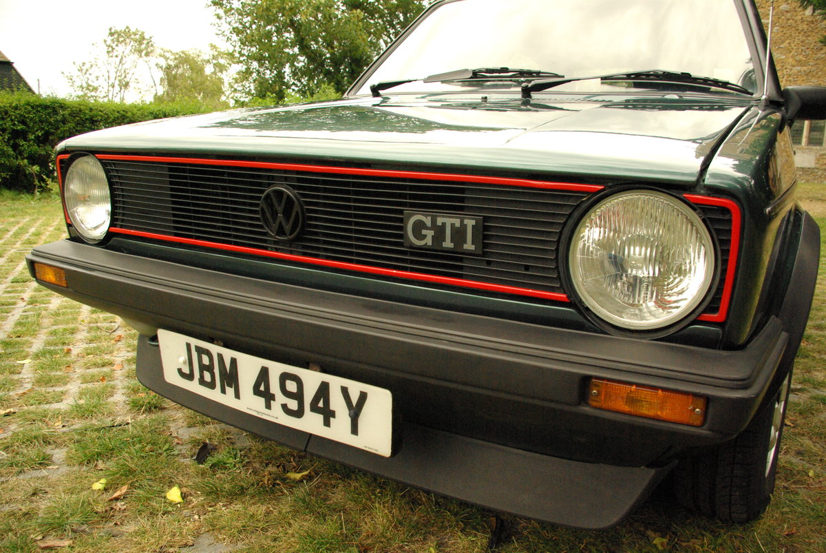 Volkswagen Golf Mk1 Gti 1.8 Lhasa Green 1983 SOLD SOLD (picture 4 of 6)