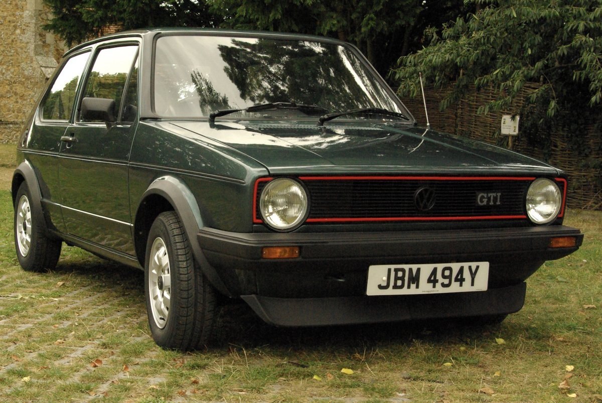 Volkswagen Golf Mk1 Gti 1.8 Lhasa Green 1983 SOLD SOLD (picture 1 of 6)