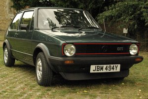Volkswagen Golf Mk1 Gti 1.8 Lhasa Green 1983 For Sale