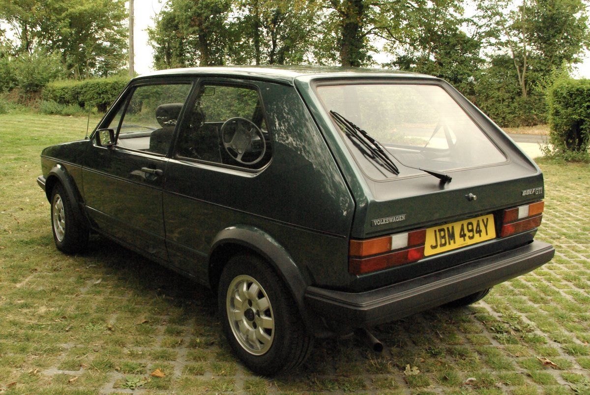 Volkswagen Golf Mk1 Gti 1.8 Lhasa Green 1983 SOLD SOLD (picture 3 of 6)