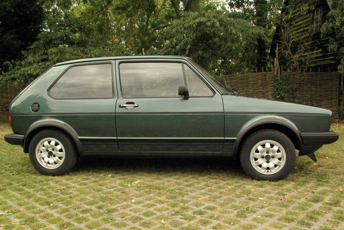 Volkswagen Golf Mk1 Gti 1.8 Lhasa Green 1983 SOLD SOLD (picture 2 of 6)