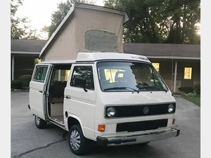 1985 Volkswagen Westfalia Camper  For Sale by Auction