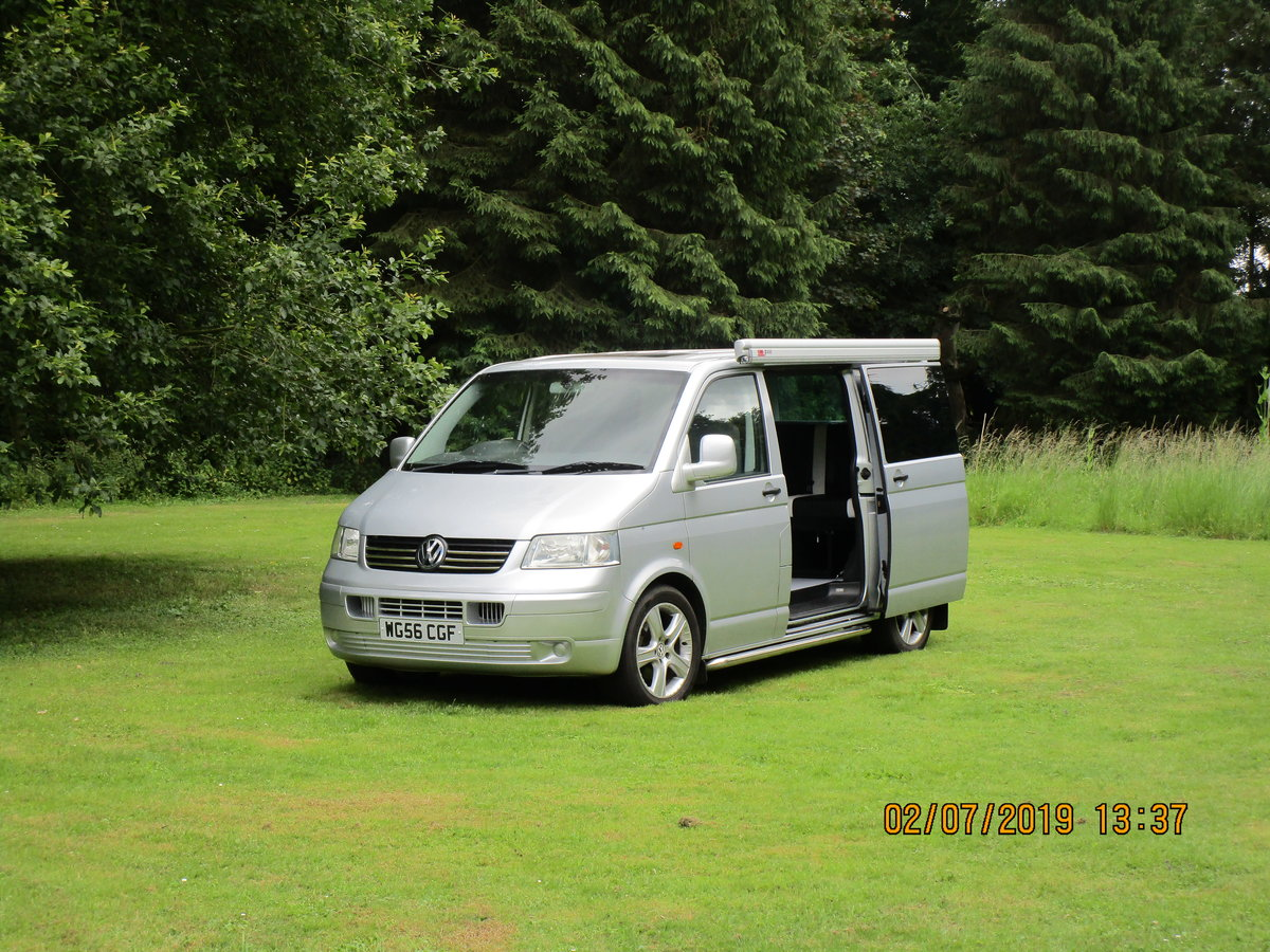 2006 Volkswagen T5 Camper Van 2.5 Litre  For Sale (picture 1 of 6)