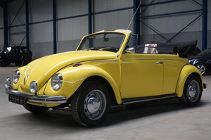 VOLKSWAGEN BEETLE CABRIO, 1971 For Sale by Auction