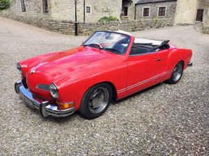 1972 Volkswagen Karmann Ghia Convertible 12 Sep 2019