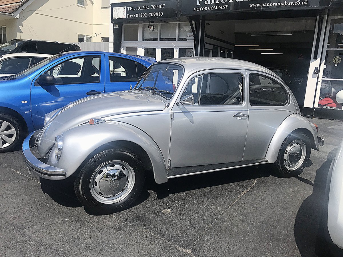 1972 VW BEETLE 1300 DELUXE SALOON For Sale (picture 2 of 4)