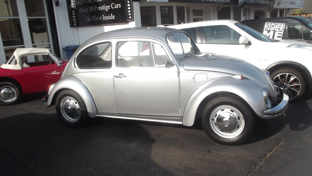 1972 VW BEETLE 1300 DELUXE SALOON For Sale (picture 3 of 4)