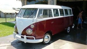 1969 Brazilian 15 window Tipe 2 bus