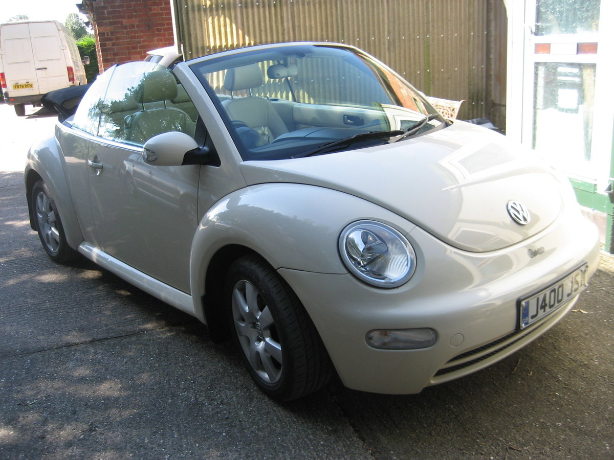 2003 Volkswagen Beetle 2.0 Convertble For Sale (picture 1 of 6)