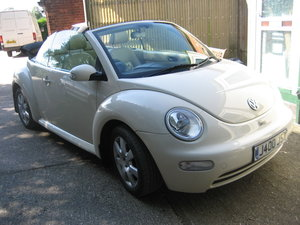 2003 Volkswagen Beetle 2.0 Convertble For Sale