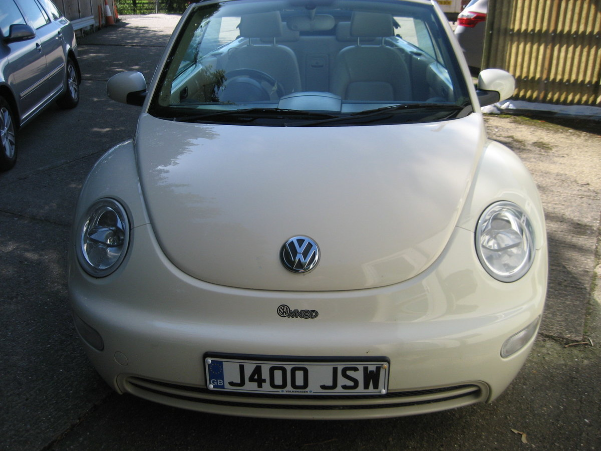 2003 Volkswagen Beetle 2.0 Convertble For Sale (picture 2 of 6)