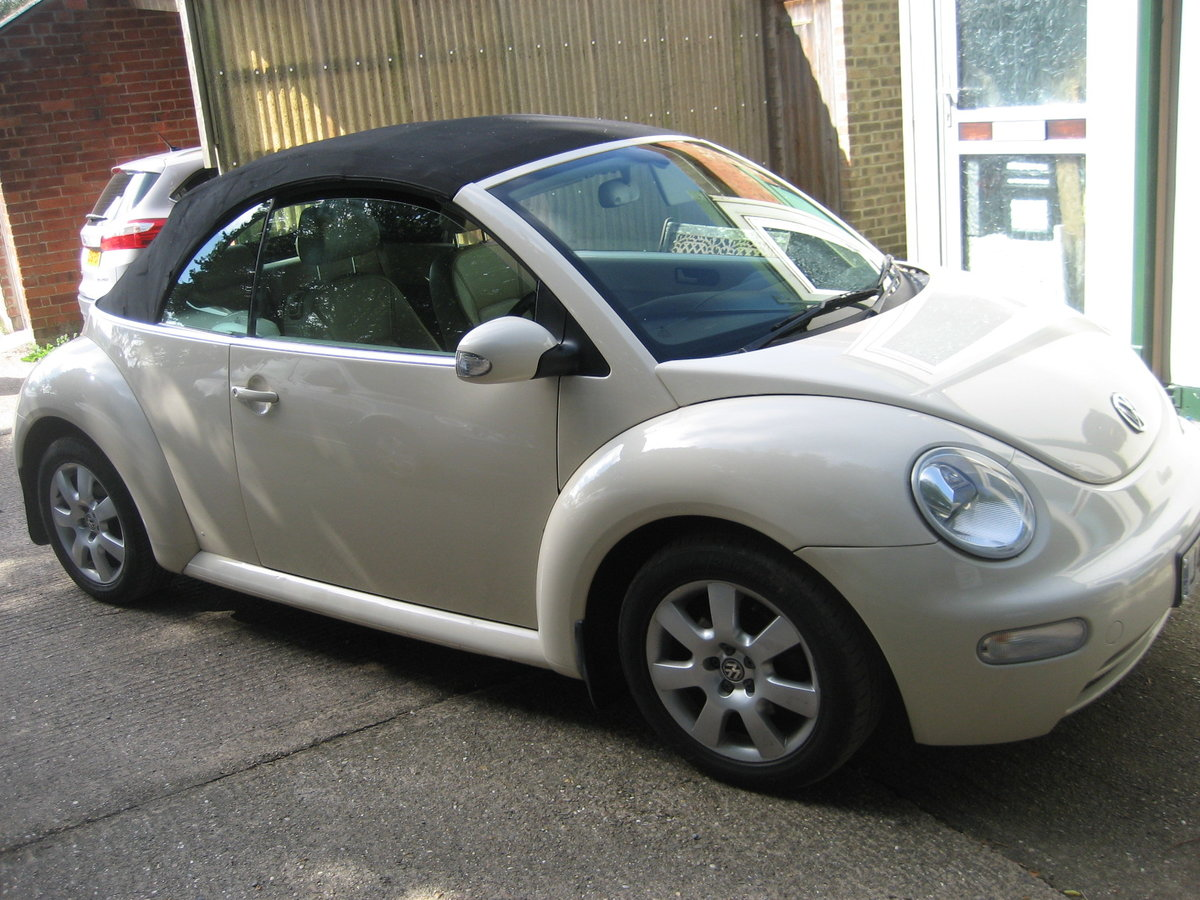 2003 Volkswagen Beetle 2.0 Convertble For Sale (picture 5 of 6)
