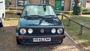 1990 Volkswagen Golf Mk2 1.6l Driver For Sale
