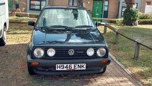 1990 Volkswagen Golf Mk2 1,6l Driver For Sale