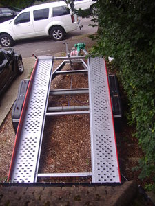 2000 car transporter trailer