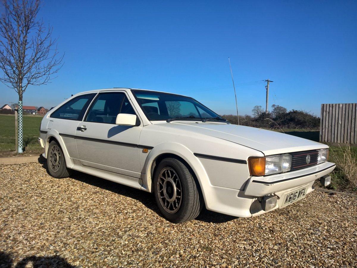 1992 VW Scirocco Scala 1.8i White For Sale (picture 1 of 6)