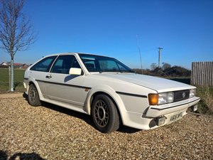 1992 VW Scirocco Scala 1.8i White