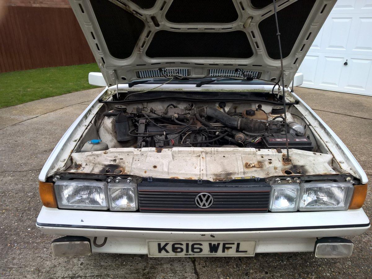 1992 VW Scirocco Scala 1.8i White For Sale (picture 5 of 6)