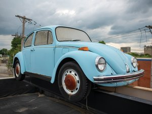 1972 Volkswagen Beetle Sedan Project  For Sale by Auction