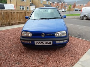 1997 VW Golf Mk3 GTI Jazz Blue Colour Concept