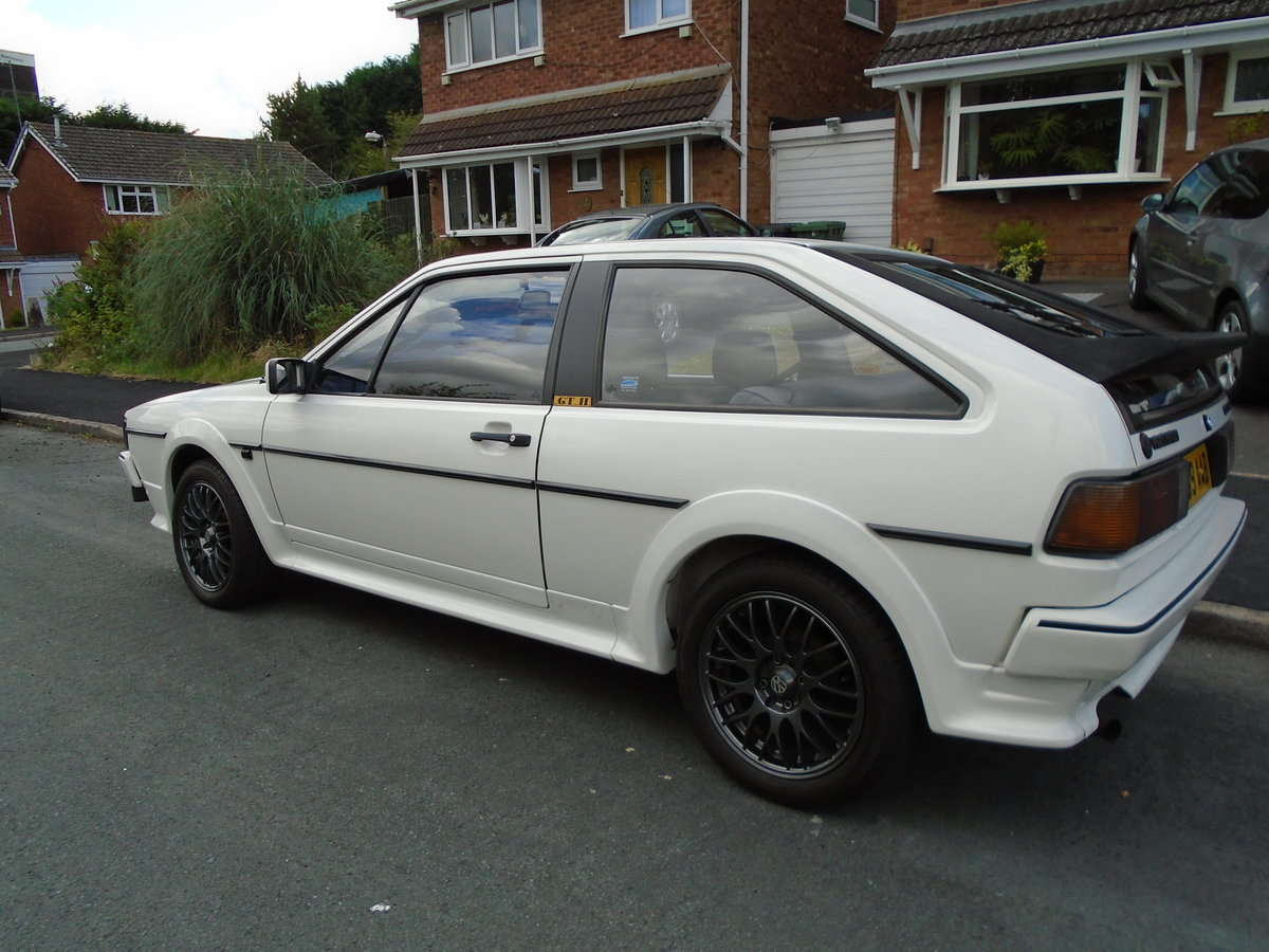 1990 VW Scirocco GTII  1.8 Genuinel LOW MILEAGE!! SOLD (picture 1 of 6)