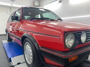 1988 Vw golf mk2 gti 1.8 16v 3dr tornado red classic