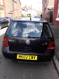 2002 Volkswagen Golf 2.8 V6 VR6 4MOTION 5dr