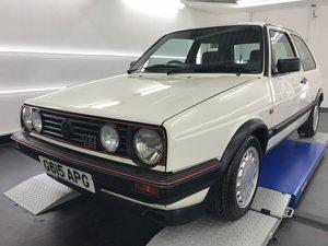 1989 Vw golf mk2 gti 1.8 16v 3dr alpine white