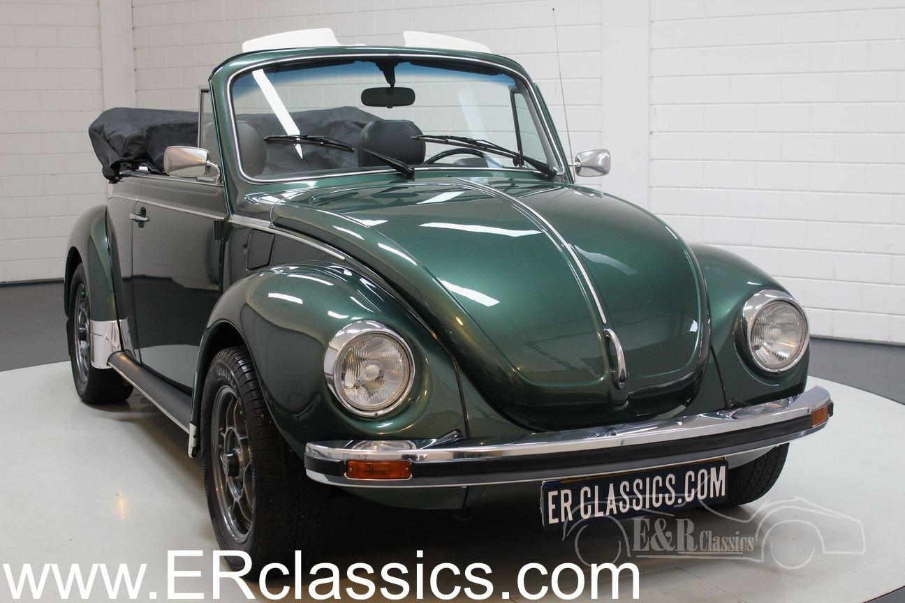 Volkswagen Beetle 1303 LS Convertible 1975 Green Metallic For Sale (picture 1 of 6)