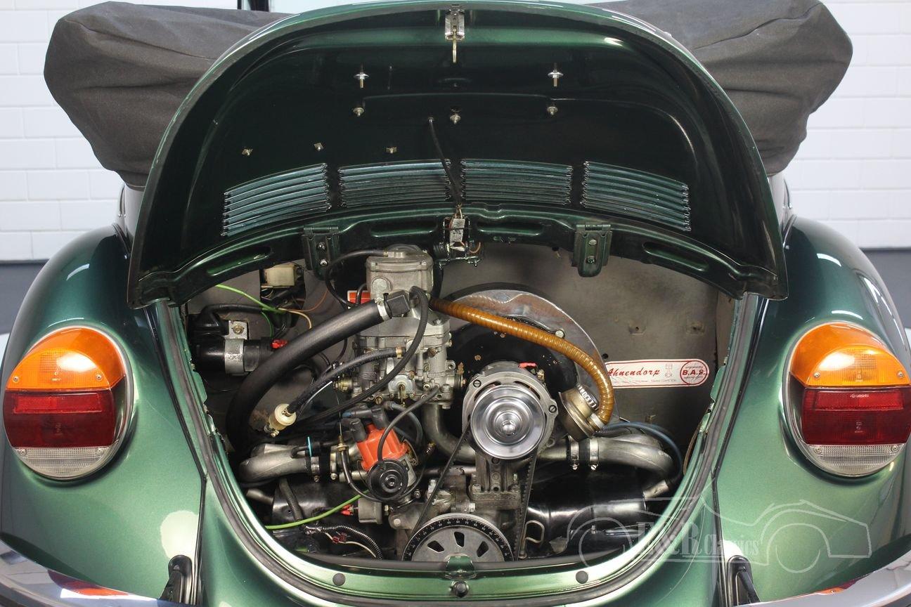 Volkswagen Beetle 1303 LS Convertible 1975 Green Metallic For Sale (picture 4 of 6)