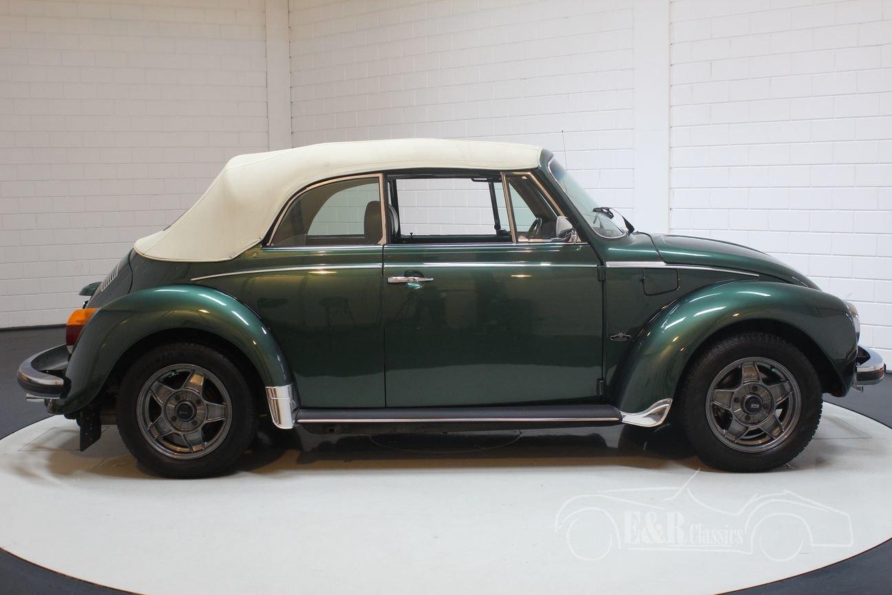 Volkswagen Beetle 1303 LS Convertible 1975 Green Metallic For Sale (picture 6 of 6)