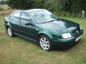 2001 Volkswagen Bora 2.8 V6 4Motion 6-speed only 44500 miles