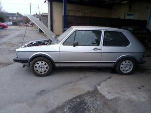 1983 VW GOLF GTI MK1
